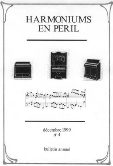 """Bulletins annuels de l'association """" Harmoniums en péril """" Hep_410"""