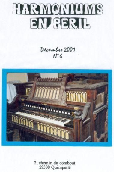 """Bulletins annuels de l'association """" Harmoniums en péril """" Hep_610"""