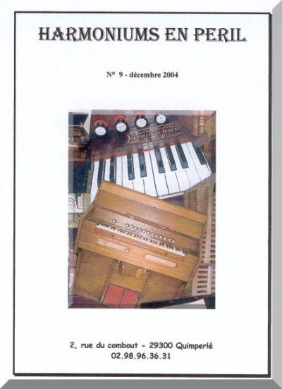 """Bulletins annuels de l'association """" Harmoniums en péril """" Hep_910"""