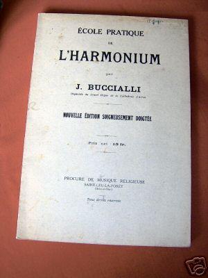 Inventaire des méthodes d'harmoniums J_bucc11