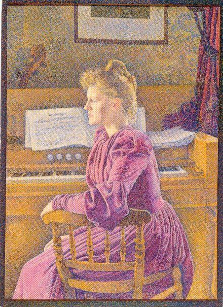 Cartes postales d'harmoniums et de reed organ Jeune_10