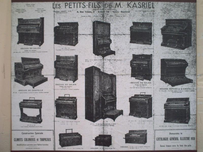 Catalogues de fabricants Kasrie10
