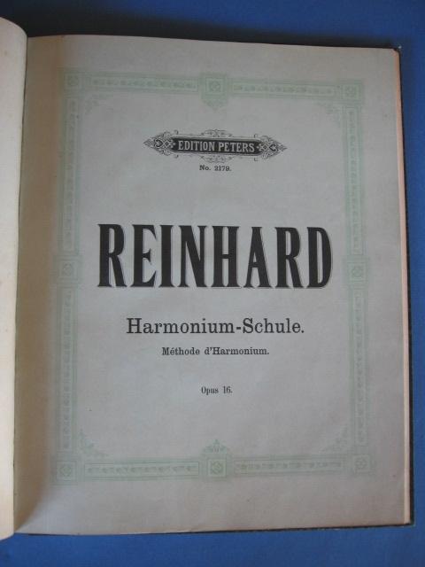 Inventaire des méthodes d'harmoniums Reinha10