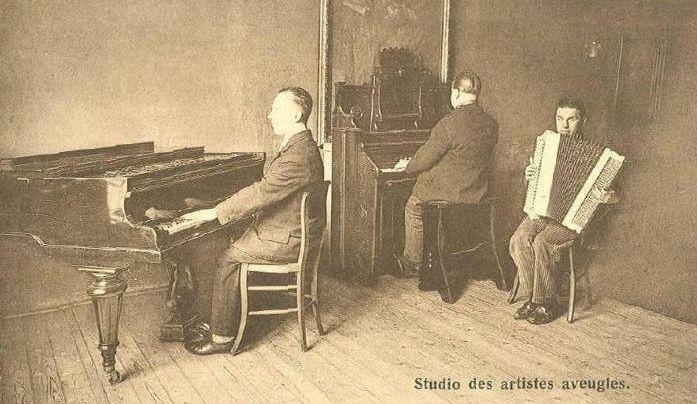 Cartes postales d'harmoniums et de reed organ Studio10