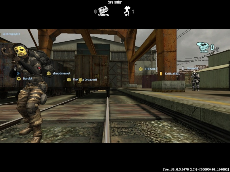 SpyHunt - Gray Hammer [with clan] Combat20