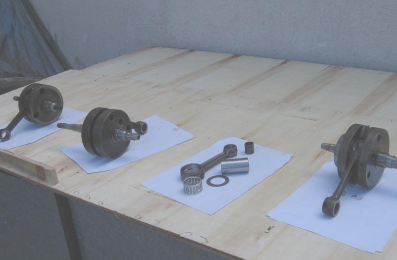 Etude comparative des différents vilbrequins de 250 MZ Aligna10