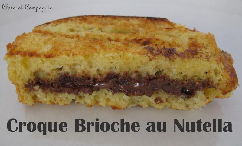 Croque Brioche au Nutella Photo_63