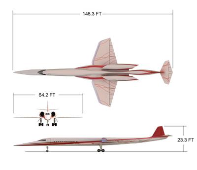 Le projet Aerion supersonique Aerion10