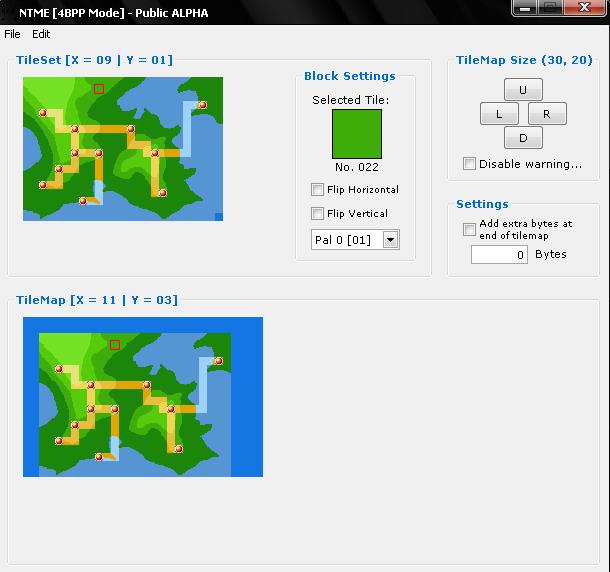 Inserer une nouvelle world map FR/LF 410