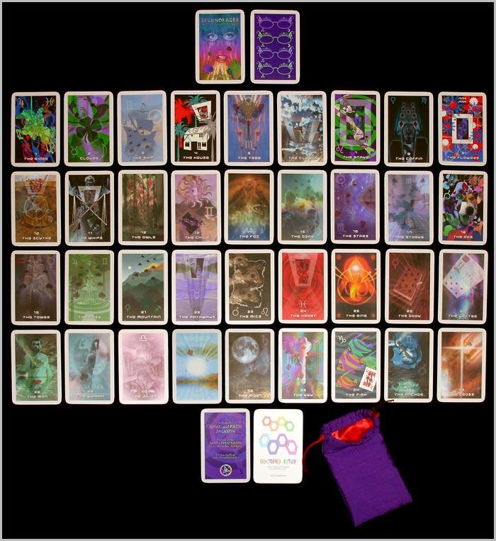Les différentes versions des  cartes Lenormand - Page 5 Techno10