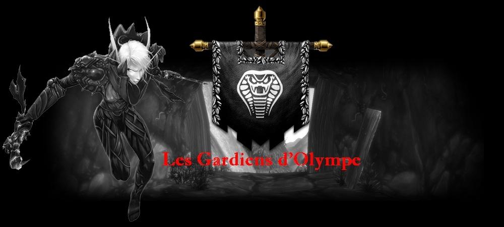 Les Gardiens d'Olympe