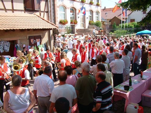 Wangen : fête de la fontaine 4, 5 et 6 juillet 2009 Dscf3417