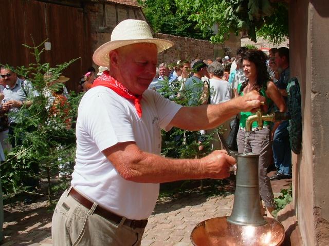 Wangen : fête de la fontaine 4, 5 et 6 juillet 2009 Dscf3523