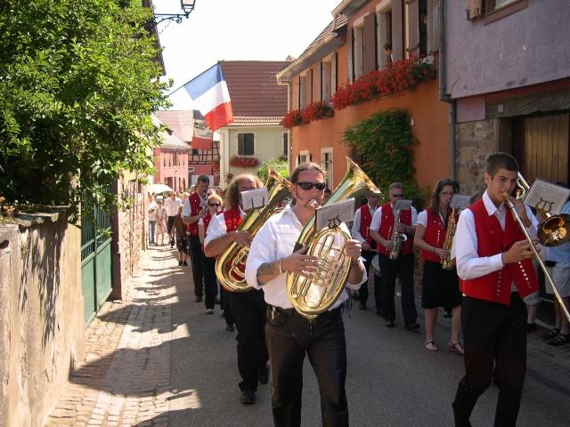 Wangen : fête de la fontaine 4, 5 et 6 juillet 2009 Dscn8814