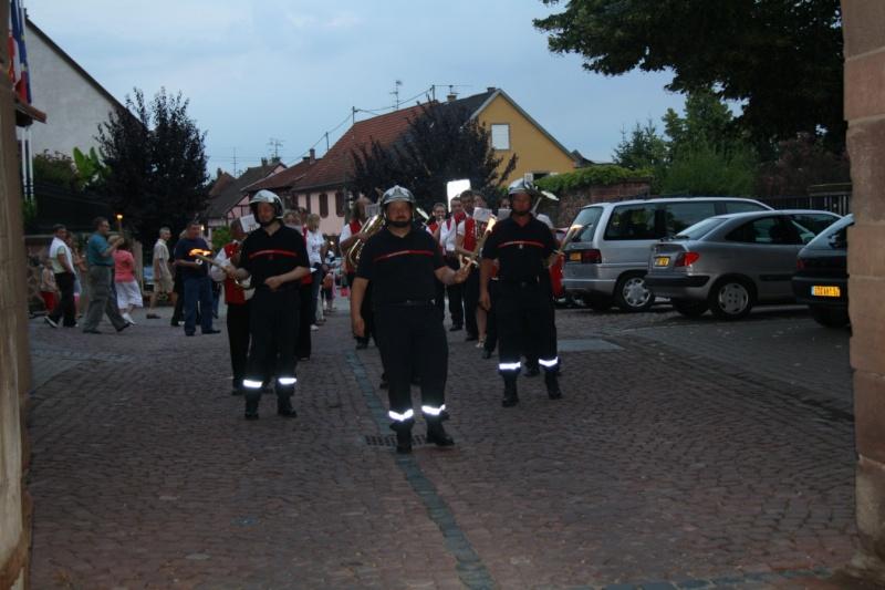 Wangen : Retraite aux flambeaux du 13 juillet 2009 Img_3322