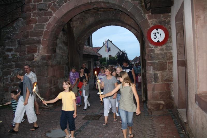 Wangen : Retraite aux flambeaux du 13 juillet 2009 Img_3331
