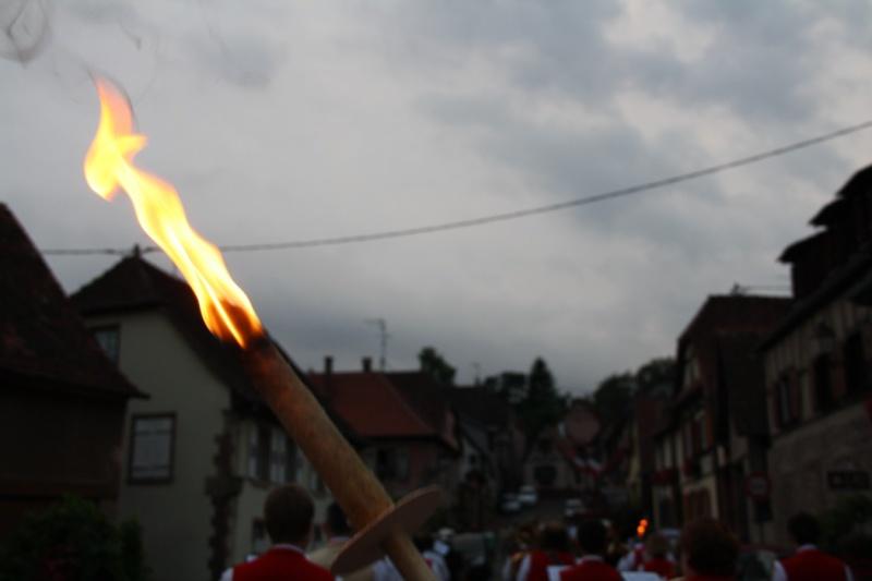 Wangen : Retraite aux flambeaux du 13 juillet 2009 Img_3347