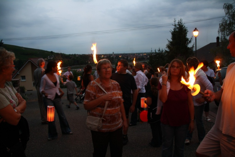 Wangen : Retraite aux flambeaux du 13 juillet 2009 Img_3413