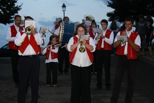 La Musique Harmonie de Wangen en vacances? Eté  2009 Img_3423