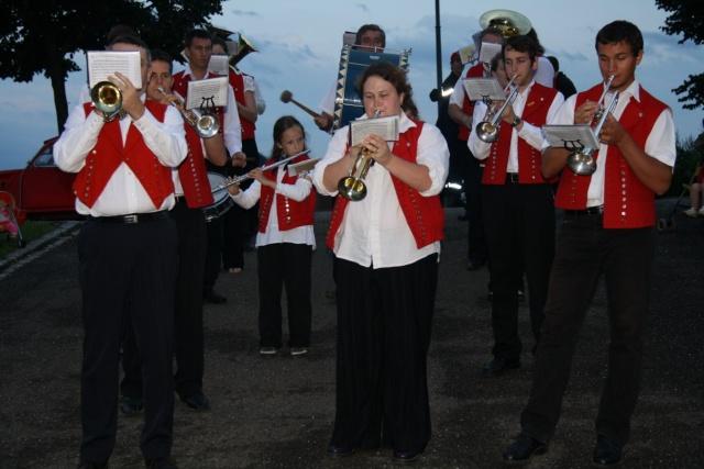 La Musique Harmonie de Wangen en vacances? Eté  2009 Img_3424