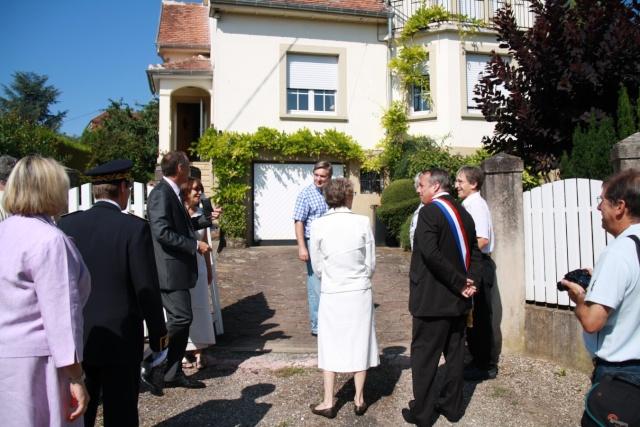 Jean-Marie et Marie-Odile Bockel à la fête de la fontaine de Wangen le 5 juillet 2009 Jm_boc11