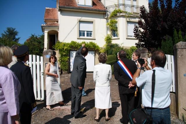 Jean-Marie et Marie-Odile Bockel à la fête de la fontaine de Wangen le 5 juillet 2009 Jm_boc12