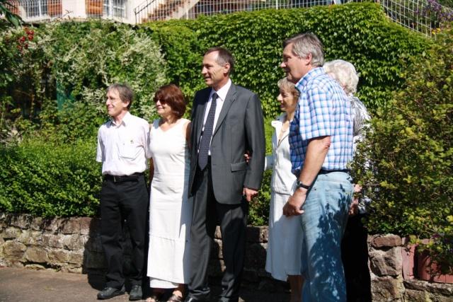 Jean-Marie et Marie-Odile Bockel à la fête de la fontaine de Wangen le 5 juillet 2009 Jm_boc14