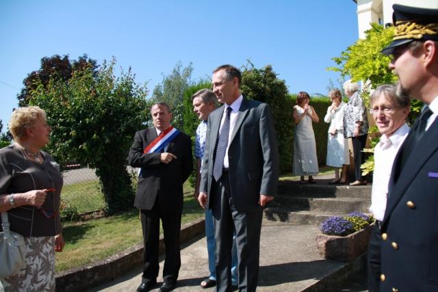 Jean-Marie et Marie-Odile Bockel à la fête de la fontaine de Wangen le 5 juillet 2009 Jm_boc15