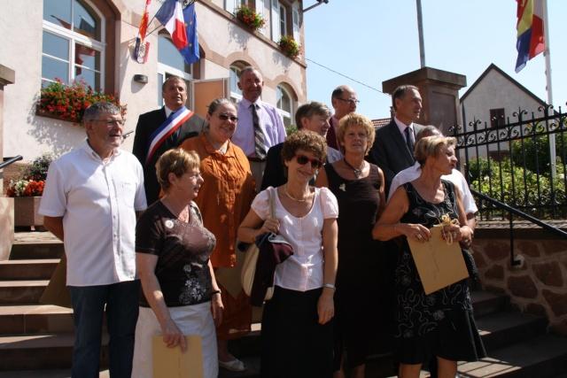 Jean-Marie et Marie-Odile Bockel à la fête de la fontaine de Wangen le 5 juillet 2009 Jm_boc30