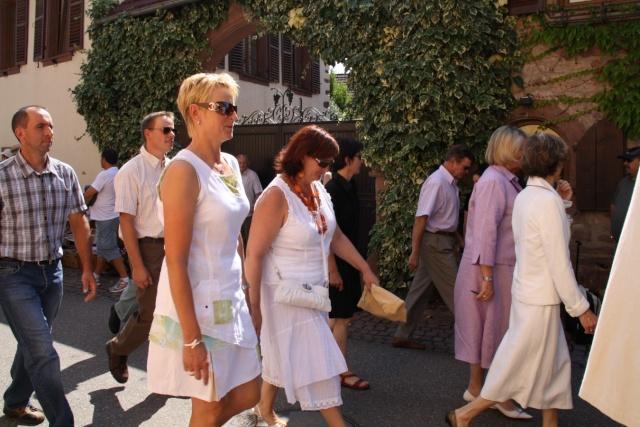 Jean-Marie et Marie-Odile Bockel à la fête de la fontaine de Wangen le 5 juillet 2009 Jm_boc31