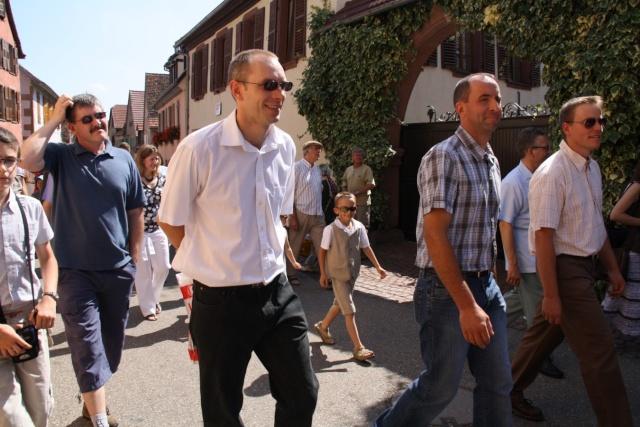Jean-Marie et Marie-Odile Bockel à la fête de la fontaine de Wangen le 5 juillet 2009 Jm_boc32