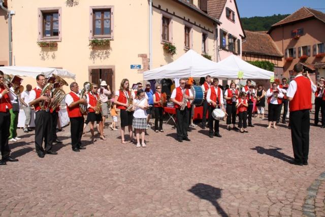 Jean-Marie et Marie-Odile Bockel à la fête de la fontaine de Wangen le 5 juillet 2009 Jm_boc34