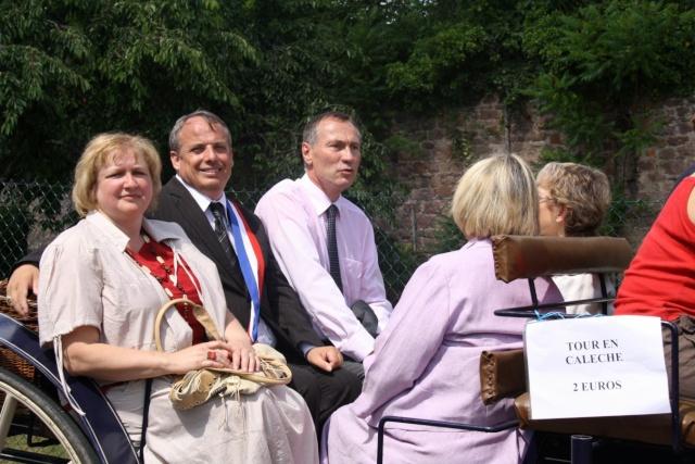 Jean-Marie et Marie-Odile Bockel à la fête de la fontaine de Wangen le 5 juillet 2009 Jm_boc52