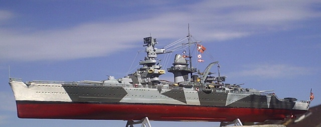 Admiral Scheer, 1/400, Heller Pic00010