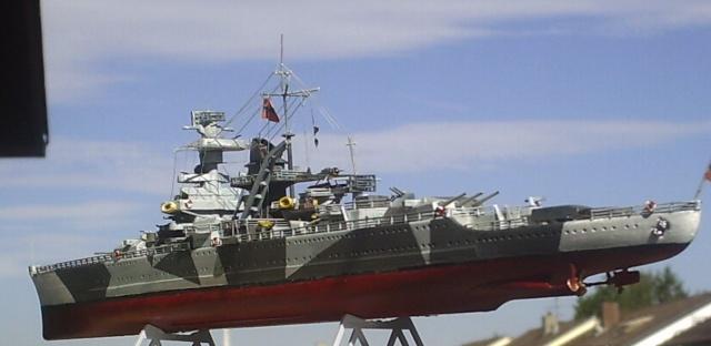 Admiral Scheer, 1/400, Heller Pic00011