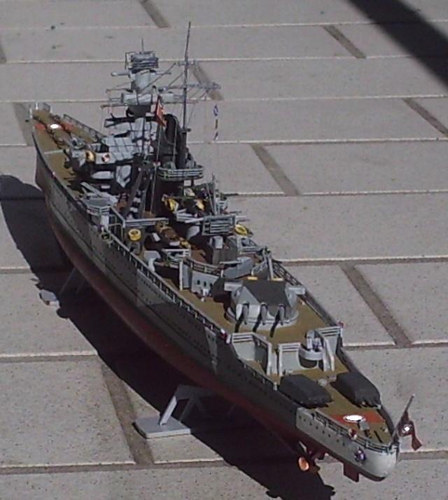 Admiral Scheer, 1/400, Heller Pic00013