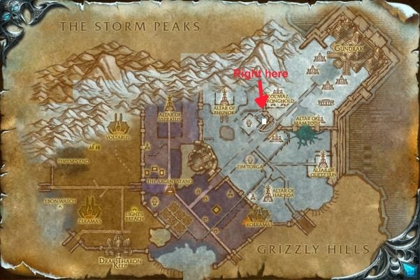how to get the spirit beast Gondria Map10