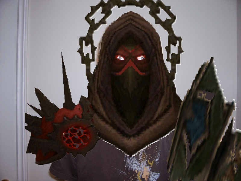 what i would look like if i was a warlock irl Me_in_10