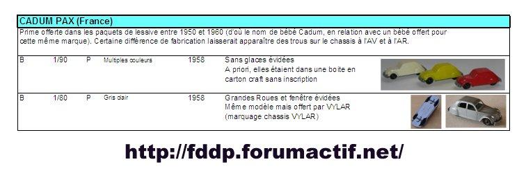 CADUM PAX (France) Image110