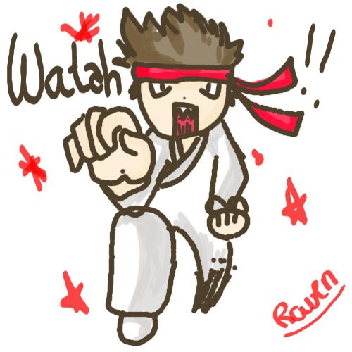 Dessine moi... Karate10