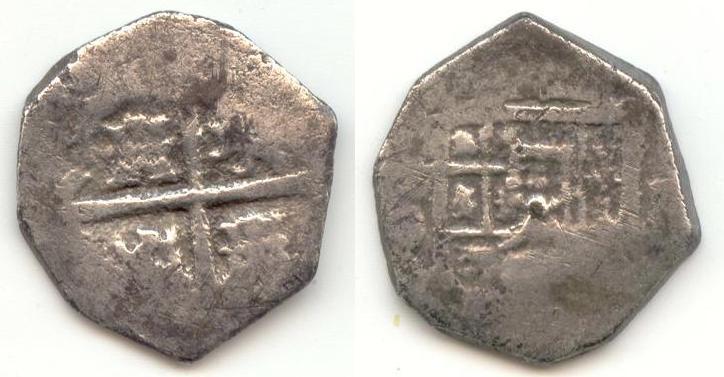 1 real de Felipe III/IV ¿? del s. XVII 112