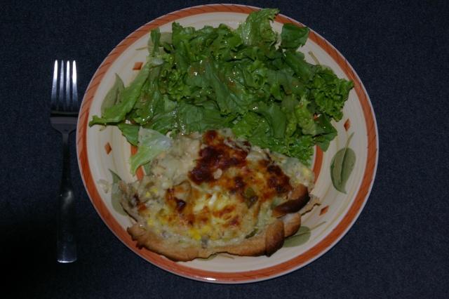 Tarte (pâté) au saumon Tarte_12
