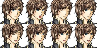 Character des personnages de présentation de vx Boyslf10