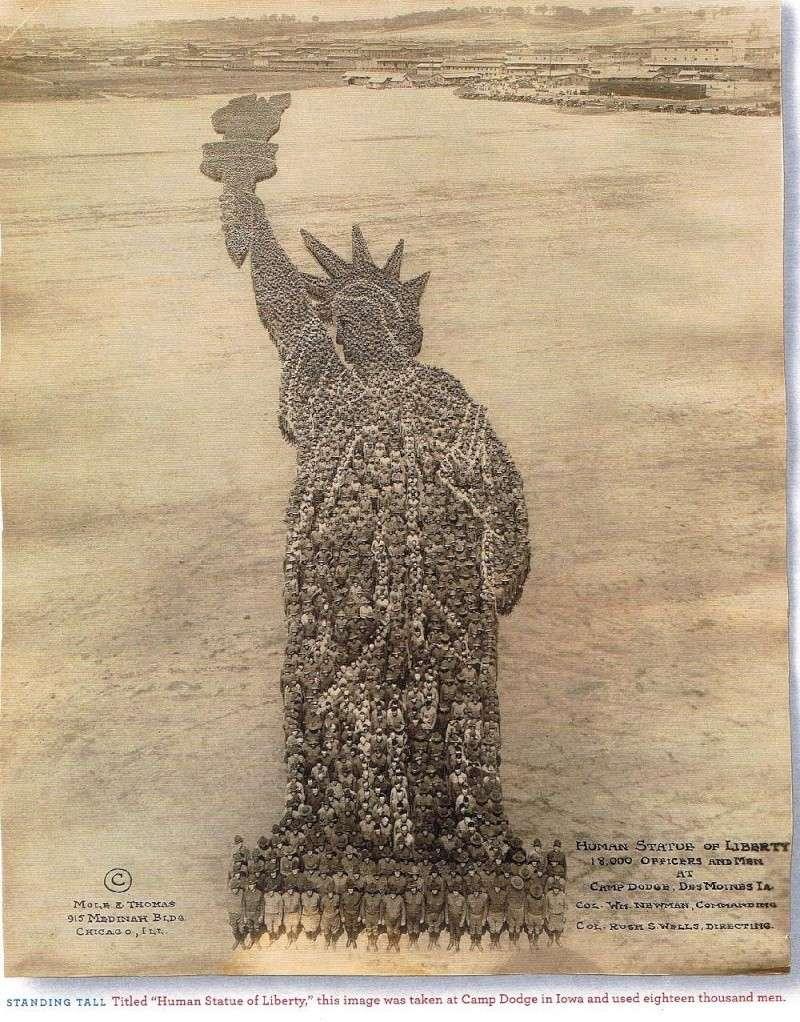 Statue de la Liberté de 1918 Att10810