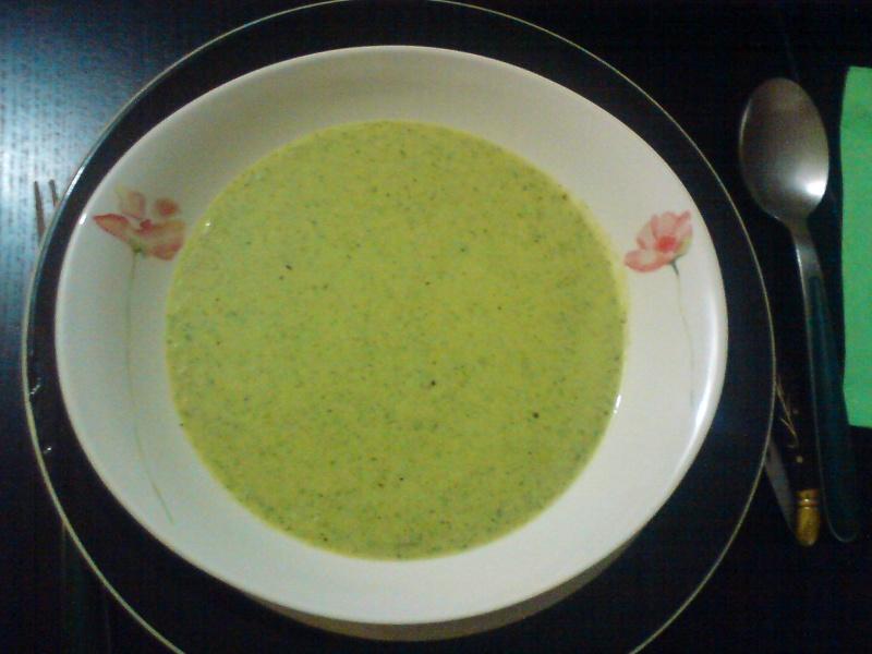 Soupe de fanes de radis Dsc01123