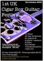 Cigar box guitar Cbg_po11