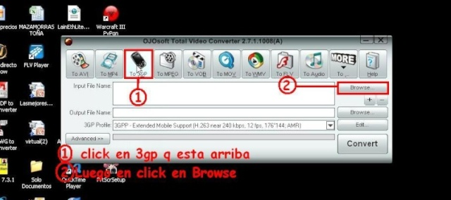 Convierte Videos 3gp Para tu Celular 111