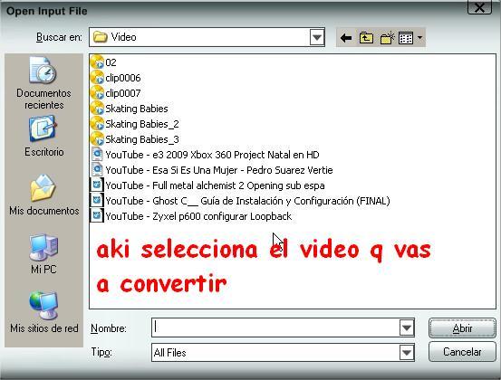 Convierte Videos 3gp Para tu Celular 210