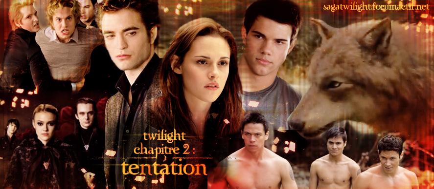 Le forum consacré à la saga Twilight