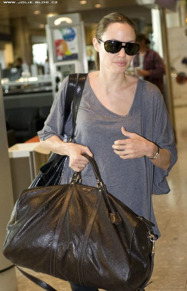 7/24/09 Angelina and Maddox Heathrow Airport 00111